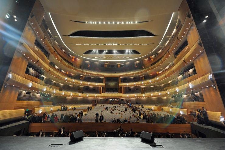 Комплекс работ для второй сцены Мариинского театра